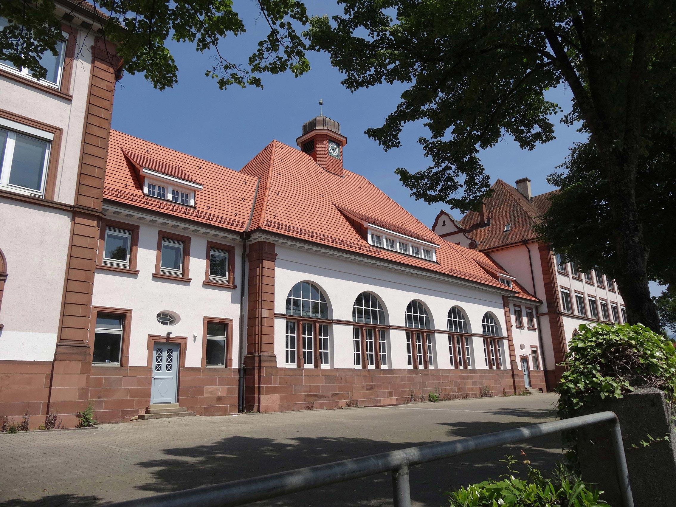 Dachsanierung Markgrafenschule EM